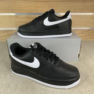 Nike Air Force 1 '07 Black White DC2911-002 Size Mens 6 / Womens 7.5