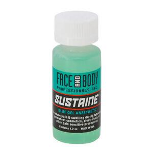 Sustaine Bleu Gel Anesthésique Anesthésique pour Tatouage & Microblading 35.5ml