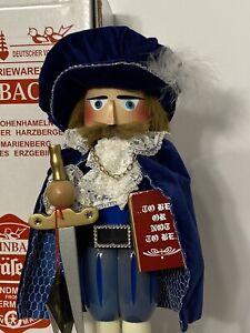 Steinbach Prince Hamlet NUTCRACKER Signed SERIES S 1750