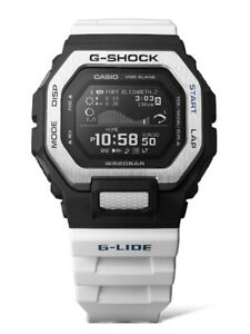 New Casio G-Shock G-Lide Bluetooth Resin Strap Watch GBX100-7