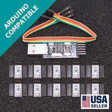 10x Arduino Pro Mini Pro & USB Programmer Newest Design FAST USA Seller U56