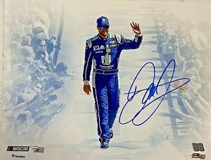 Dale Earnhardt Jr. Signed 11x14 NASCAR Photo Auto Fanatics Hologram