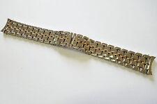 Girard PERREGAUX acciaio Rotgold nastro, 20 MM, ref. 4900, 4910 NOS