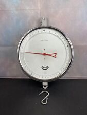 """Vtg Chatillon Baker Round Face 14"""" Hanging Scale    25769 Humana"""