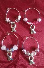 Hook Acrylic Silver Plated Hoop Costume Earrings