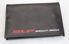 1 - SLP Specialty Vehicle Faux Leather Portfolio with SLP Pen and Notepad NEW!