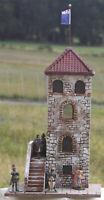 Stadt- Wehrturm in Kaltenburg 2554, zu 7cm Sammelfiguren, auf Base, GMK, History