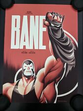 Mondo Batman Animated Series Bane Poster BTAS Limited 225 Dark Knight