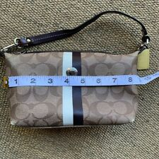 Small Learher Shoukder Strapped coach  handbag