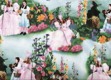 """Wizard of Oz 4 Pieces 10"""" X 10"""" or 1 piece 10"""" by Wof Cotton Fabric"""