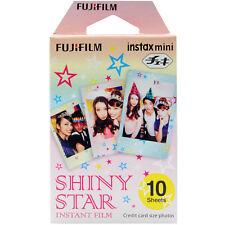 Pellicola Istantanea FujiFilm Instax Mini Shiny Star Cp. Polaroid/Lomo 10 foto