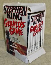 Stephen King Gerald's Game 12 Audio Cassettes Complete & Unabridged