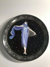 House of Erte Collector Plate -Moonlight- Limited Edition Franklin Mint