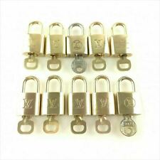 Used Louis Vuitton Pad Lock with key 10 sets