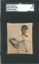 1949 Bowman #233 Larry Doby ROOKIE  GRAY Variation SGC