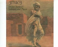 CD  AFRICA	drum chant & industral music	EX   (A1314)