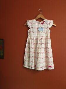 Nwt Girls Kids Dream Bow Spring Summer Cap Sleeve Floral A Line Dress
