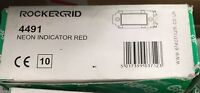 crabtree 4491 grid neon indicator red