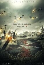Resident Evil Retribution Movie Poster 24in x 36in