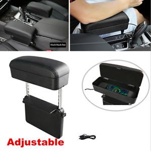 Wireless Charging Car Pocket Organizer Seat Console Gap Filler Side Catcher Box