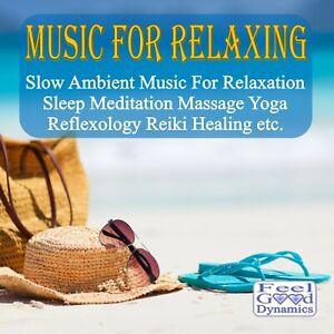 Music For Relaxing CD For Relaxation, Meditation, Yoga, Reflexology, Reiki etc.