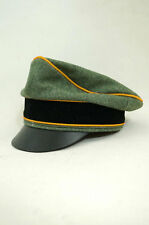 WWII German Waffen Elite Cavalry / Recon Wool Crusher Visor Cap size 59 ONLY