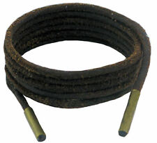 Shoe and Boot Laces Heavy Duty 4 mm Round Dark Brown Sizes 45-200 cm