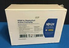 NEW Tripp Lite P130-000-DP HDMI to DisplayPort Active Converter