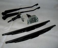 Bearmach Land Rover Defender 90,110, Pair of Wiper Spindles, Wiper Arms & Blades