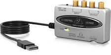 Behringer U-Control UCA202 USB digital audio interface soundcard DAP optical