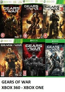 Gears Of War Xbox 360 Backward Compatible Xbox one Assorted Mint  - FAST DEL