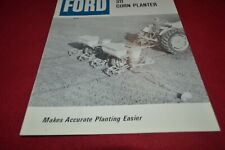 Ford Tractor 311 Corn Planter Dealers Brochure AMIL15