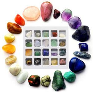 20Pcs Collection Stone Kits Healing Crystal Natural Gemstone Reiki Chakra Gifts