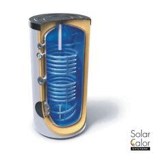 Accumulo Acqua Calda Sanitaria 200 L Doppio Serpentino Solare Termico