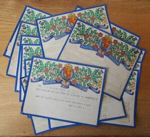 Job Lot 14 x Greetings Telegrams - September 1941 - Wedding Congratulations?