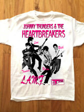 HEARTBREAKERS T-SHIRT! Size L JOHNNY THUNDERS NEW YORK DOLLS GLAM PUNK ROCK 1977