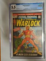 MARVEL PREMIERE #1 FEATURING WARLOCK (1972) CGC 5.5 KEY MARVEL BRONZE AGE