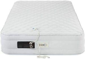 AeroBed Luxury Pillow Top  16 inch Height   size: Queen   Air Mattress  DMG BOX
