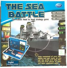 Sea Battle Naval Combat Game - Battleship Board Game