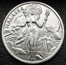 Trident - Thalassa 1 oz .999 Silver BU Round USA Made Limited Bullion Coin
