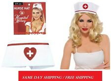 Sexy Nurse Hat Hospital Honey Nurses Fancy Dress Costume  . FREE SHIPPING