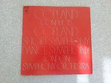 Copland Conducts Copland Symphonies LP Record MS 7223