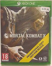 Mortal Kombat X PROMO EDITION per XBOX ONE PAL - NUOVO