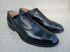 Allen Edmonds Park Avenue black leather oxford captoe men's shoes size 11D US ma