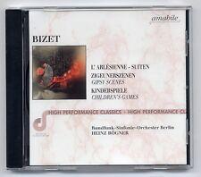 Bizet CD L'Arlesienne Suiten ex DDR DSB amabile RSO Berlin Heinz Rögner rec 1974