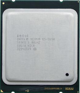 Intel Xeon E5-2650-V1 (SR0KQ) 2.00GHz 8-Core LGA2011 CPU