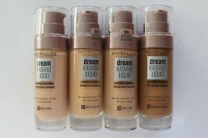 Maybelline Dream Radiant Liquid Hydrating Foundation 30ml - Please Choose Shade: