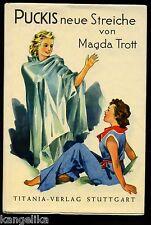Pucki--Puckis neue Streiche--Magda Trott--31. Auflage--Titania Verlag