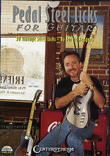 Pedal Steel Licks For Guitar DVD Learn to Play Country Lesson Music DVD