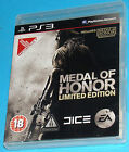 Medal of Honor Limited Edition - Sony Playstation 3 PS3 - PAL